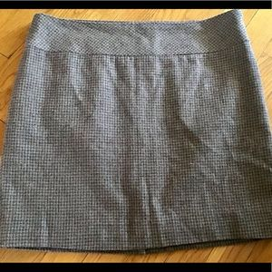 The Limited wool lined mini skirt size 8